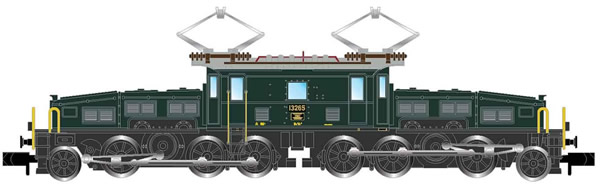 Arnold HN2432D - Swiss Electric Locomotive Class Be 6/8II (Crocodil) of the SBB (Digital)