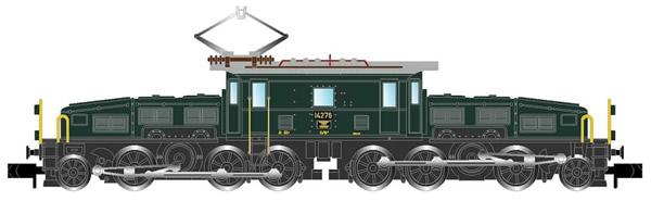 Arnold HN2433 - Swiss Electric Locomotive Class Ce 6/8II (Crocodil) of the SBB - Shunting version