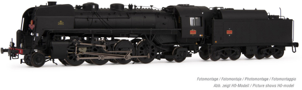 Arnold HN2481S - French Steam locomotive 141 R 1173 Mistral of the SNCF (Sound)