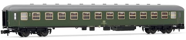 Arnold HN4189 - 2nd Class Passenger Coach, express train coach, Bm233