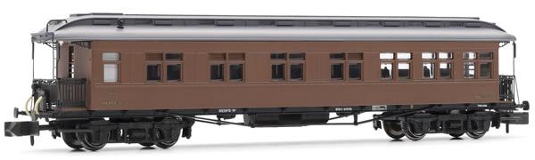 Arnold HN4224 - Costa coach, 2nd/3rd class, RENFE, lantern roof