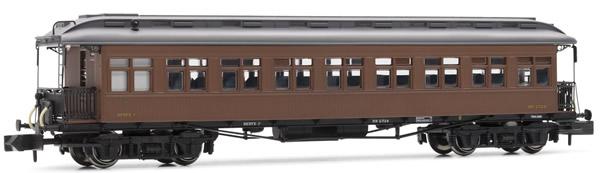Arnold HN4228 - Costa coach, 2nd class, RENFE, lantern roof