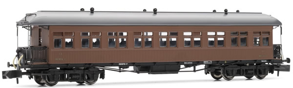 Arnold HN4230 - Costa coach, 2nd class, RENFE, American car