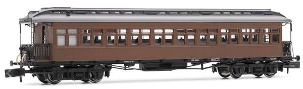 Arnold HN4234 - Costa coach, 3rd class, RENFE, lantern roof