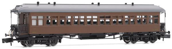 Arnold HN4235 - Costa coach, 3rd class, RENFE, low roof