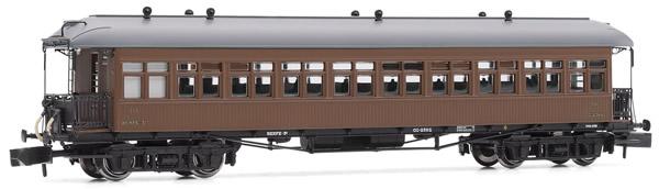 Arnold HN4236 - Costa coach, 3rd class, RENFE, American car