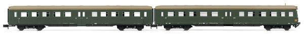 "Arnold HN4247 - 2pc Passenger Coach Set (1 x control cab) ""Lowa E5"""