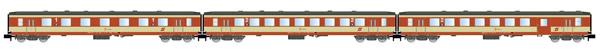 "Arnold HN4248 - 3pc Passenger Coach Set ""Schlieren"" ""K2-design"""