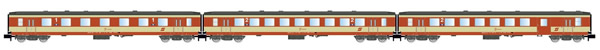 "Arnold HN4248 - 3pc Passenger Coach Set ""Schlieren"" ""K2-design"""