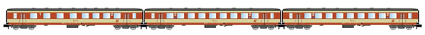 "Arnold HN4249 - 3pc Passenger Coach Set ""Schlieren"" ""K2-design"""