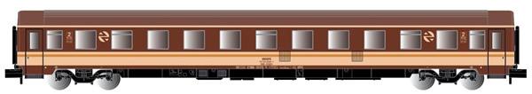 Arnold HN4276 - 2nd Class 10000 type coach in Estrella livery