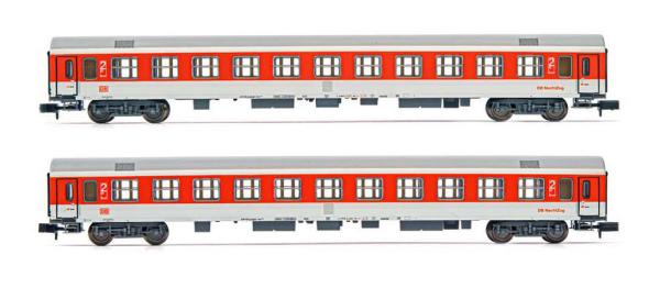 Arnold HN4309 - Nachtzug, 2-unit pack coaches type Bomdz