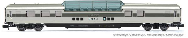 Arnold HN4377 - RailAdventure, dome car, grey livery