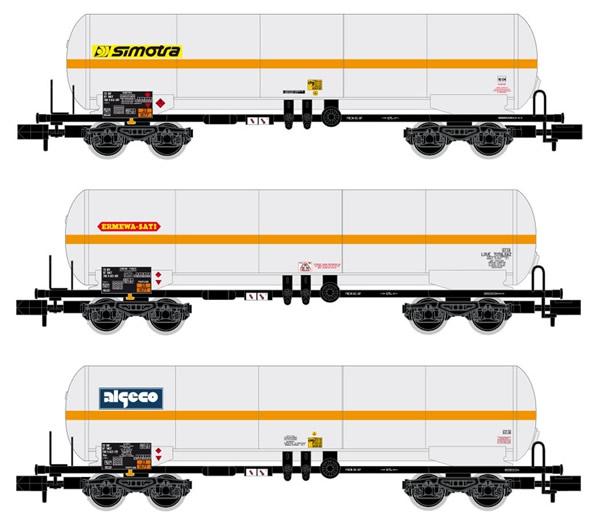 Arnold HN6387 - 3pc 4-axle Gas Tank Wagon Set