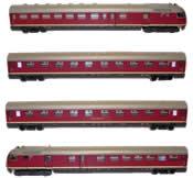 Helvetia Express Diesel Train type VT 08.5 - DB. 4 unit set