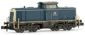 Diesel locomotive, class 212, running number 212 018-8 DB