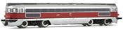 """Diesel locomotive, class 353, running number 3005T """"Virgen de la Bien Aparecida"""" RENFE"""