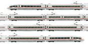 "Set x 8 units high speed EMU ICE3, class 406, unit 4612 ""Forbach-Lorraine"" DB"