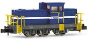 """Shunting diesel locomotive, type DHG 700 C, """"DONAU CHEMIE"""""""