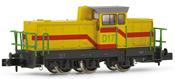 "Shunting diesel locomotive, type DHG 700 C, D17 of the ""Dillinger Hütte D17"""