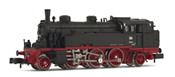 Steam locomotive, class 754,10-11, ex. bad. Vlc, running number 75 401 DB