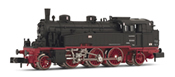 Steam locomotive, class 754,10-11, ex. bad. Vlc, running number 75 1005 DR