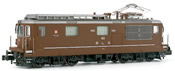 Electric locomotive class Re 4/4 running number 163, BLS