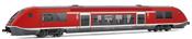 Diesel Regional railcar, class 641, running number 641 001-3, DB AG