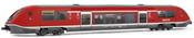 "Diesel Regional railcar, class 641, running number 641 026-0, livery ""Thüringen DB AG"