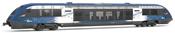 "Diesel Regional railcar class X 73500, running number X 73712,  ""Kaleidoskope"" livery  SNCF"