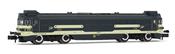 """Diesel locomotive, class 354, running number 354 006-9 """"Virgen de Aránzazu"""" RENFE"""