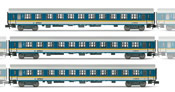 Set x 3 coach units ALEX with 3 x type Bom coaches DB