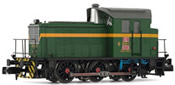 Spanish Diesel Locomotive 303.131 of the RENFE