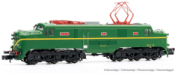 RENFE, electric locomotive 277 011-3, green livery, period IV