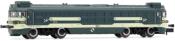 RENFE, Talgo diesel locomotive 354-003 Virgen de la Encarnación, blue/beige livery, period V