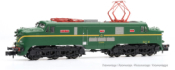 RENFE, electric locomotive 277, standard green livery, period IV