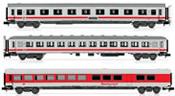 "3-unit passenger coach set ""IC train"" of the DB AG"