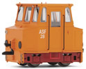 German Accumulator Shunting Locomotive of the DR