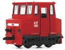 German Accumulator Shunting Locomotive of the DB AG