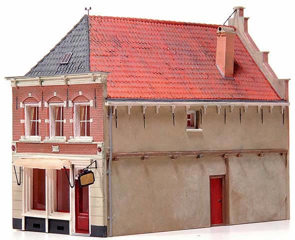 Artitec 10.166 - Trade-mans house w/ living quarters (18th Century)