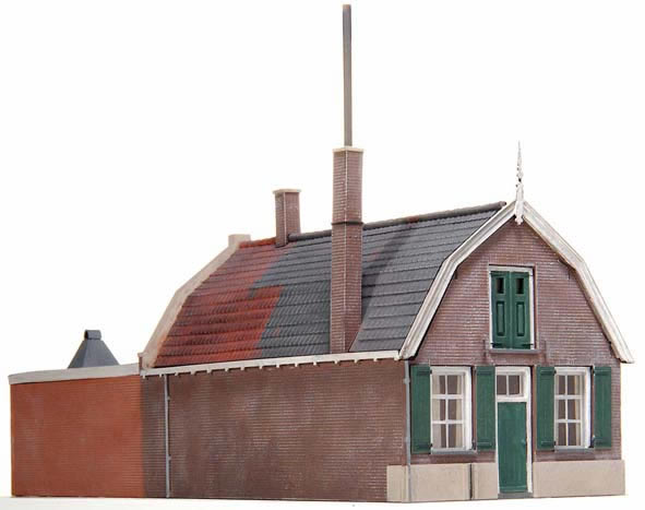 Artitec 10.176 - House with Mansard roof and workshop