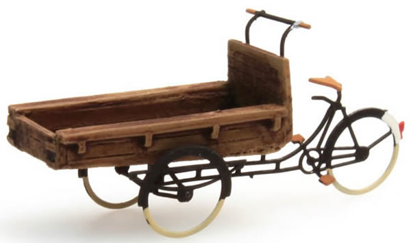 Artitec 10.204 - Tricycle w/ flatbed for deliveries