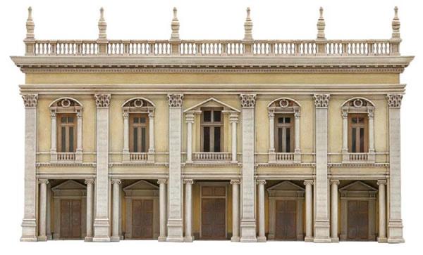 Artitec 10.236 - Facade R (Classical/plastered)