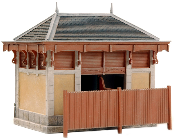 Artitec 10.266 - French restroom facility and railroad equipment huts