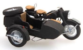 Artitec 10.280 - BMW R75 motorcycle w/ sidecar (civilian version)