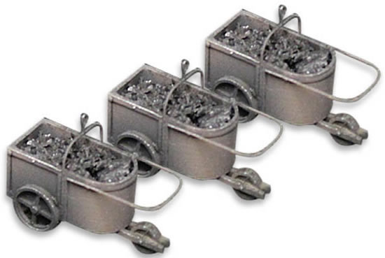 Artitec 10.298 - 3 Coal Tubs for Coaling Station