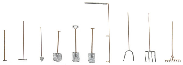 Artitec 10.335 - Tool Set for Garden or Farm