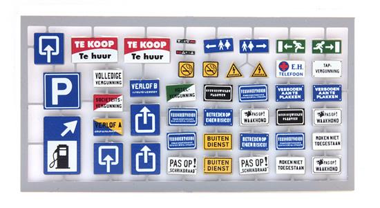 Artitec 10.354 - Dutch signs Set A