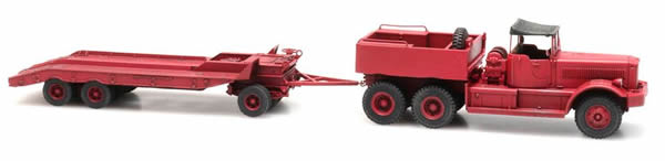 Artitec 10.370 - Diamond T truck with trailer Kit