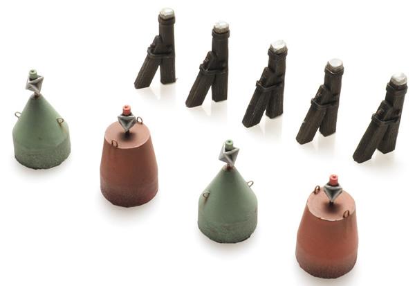 Artitec 10.404 - Moorings and buoys waterline - KIT